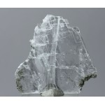 Гипс, актинолит, гематит, м-ние Куржункуль, Сев. Казахстан, 55х55х5 мм.