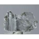 Гипс, актинолит, гематит, м-ние Куржункуль, Сев. Казахстан, 50х30х7 мм.