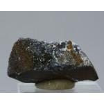 Манганит, кварц, м-ние Куржункуль, Сев. Казахстан, 45х15х20 мм.