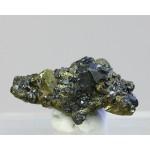 Тетраэдрит, халькопирит, м-ние Джезказган, Ц. Казахстан, 28х15х15 мм.