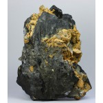 Гюбнерит, сидерит, пирит, м-ние Кара-Оба, Ц. Казахстан, 115х140х55 мм.