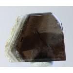 Кварц, флюорит, берилл, м-ние Кент, Ц. Казахстан, 40х33х8 мм.