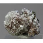 Датолит, кальцит, пирит, Куржункуль, Сев. Казахстан, 40х30х25 мм.