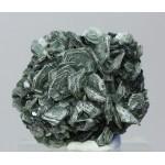 Клинохлор, гематит, м-ние Куржункуль, Сев. Казахстан, 40х35х20 мм.