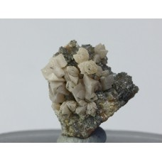 Родохрозит, гемиморфит, м-ние Шаймерден, Сев. Казахстан