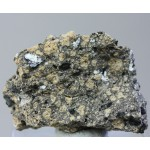 Ангидрит, гематит, Везувий, Италия, 40х30х20 мм.