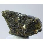 Андрадит, магнетит, В. Уфалей, Челябинская область, 50х25х25 мм.