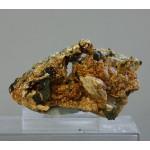 Гидроксилхондродит, магнетит, Прасковье-Евгеньевская копь, Челябинская область, 70х50х70 мм.