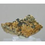 Гидроксилхондродит, магнетит, Прасковье-Евгеньевская копь, Челябинская область, 80х40х50 мм.