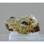 Гидроксилхондродит, магнетит, Прасковье-Евгеньевская копь, Челябинская область, 45х20х30 мм.