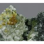 Диопсид, гроссуляр, клинохлор, м-ние Баженовское, Свердловская область, 45х35х15 мм.