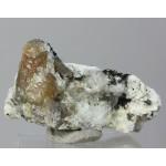 Титанит, нефелин, Вишневые горы, Челябинская область, 50х30х30 мм.