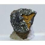 Манганит, Ахтинский рудник, Челябинская область, 15х20х15 мм.