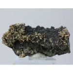 Алланит-La, эпидот, ортоклаз, Малый Куйбас, Челябинская область, 65х35х20 мм.